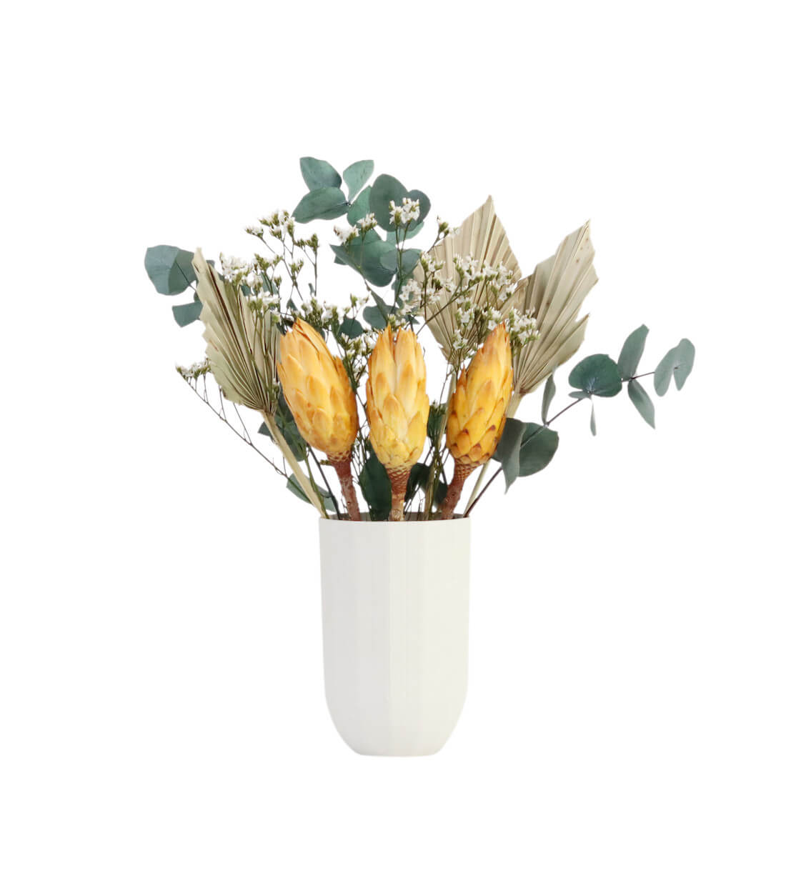Lucia preserved and dried flower bouquet by Shida Preserved Flowers