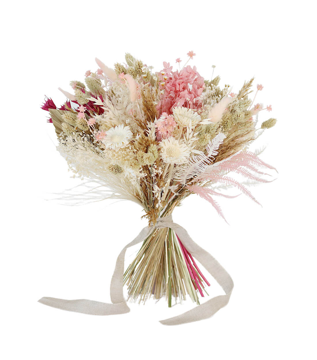 Daydream Bridesmaid Bouquet preserved and dried wedding flowers by Shida Preserved Flowers