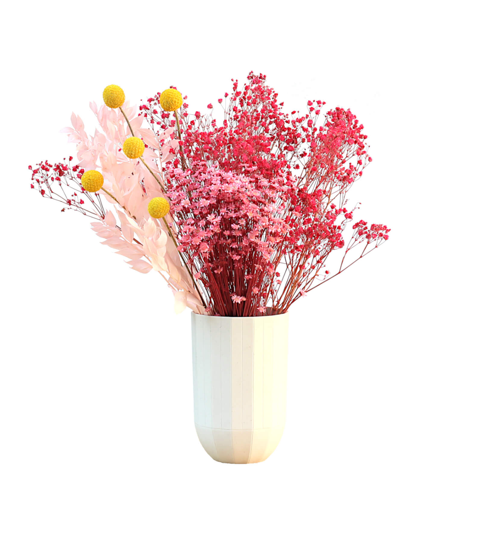 Sorbet preserved and dried flower bouquet by Shida Preserved Flowers